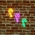 士的糖 霓虹燈