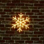 雪花 霓虹燈