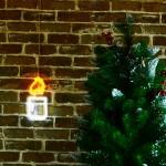 蠟燭 霓虹燈