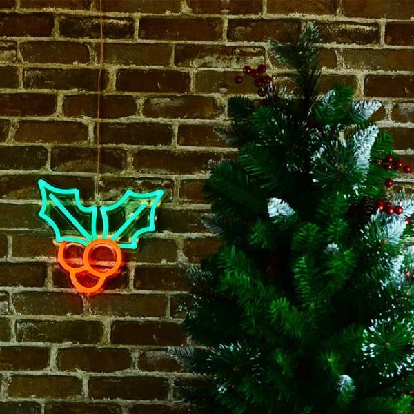聖誕櫻桃 霓虹燈