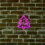 聖誕樹 霓虹燈