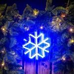 小雪花 霓虹燈